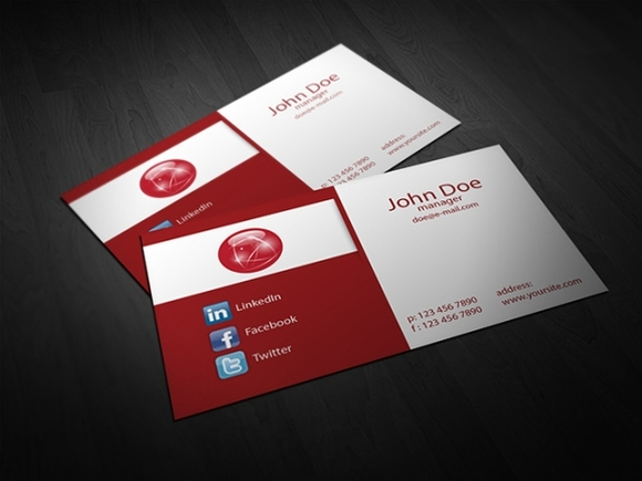 free business card templates 2016