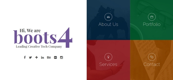 Boots4 - free website templates 2016