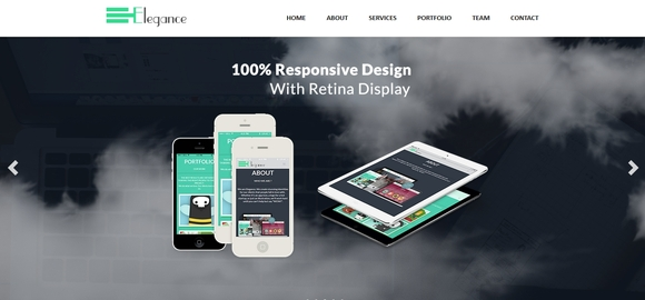 Elegance - bootstrap html5 template