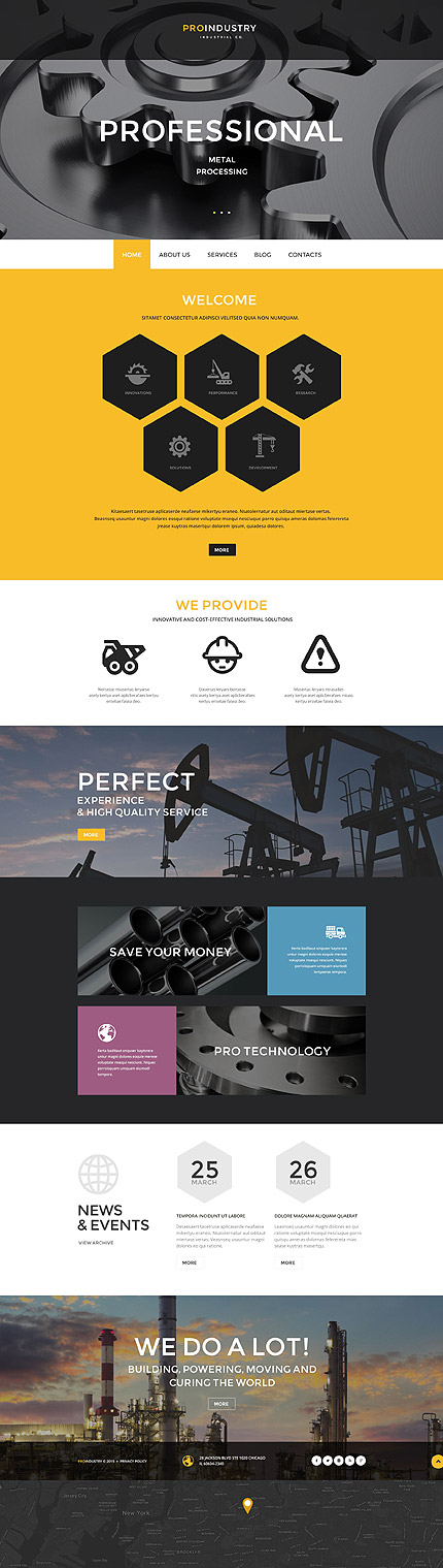 Industrial WP Theme