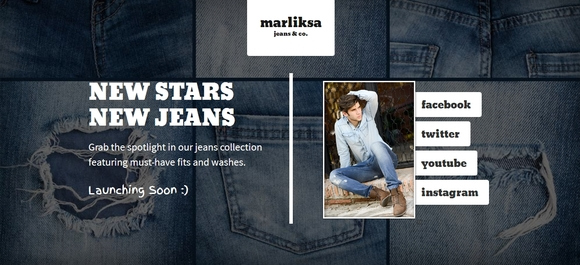 Marliska Jeans - under construction templates 2015